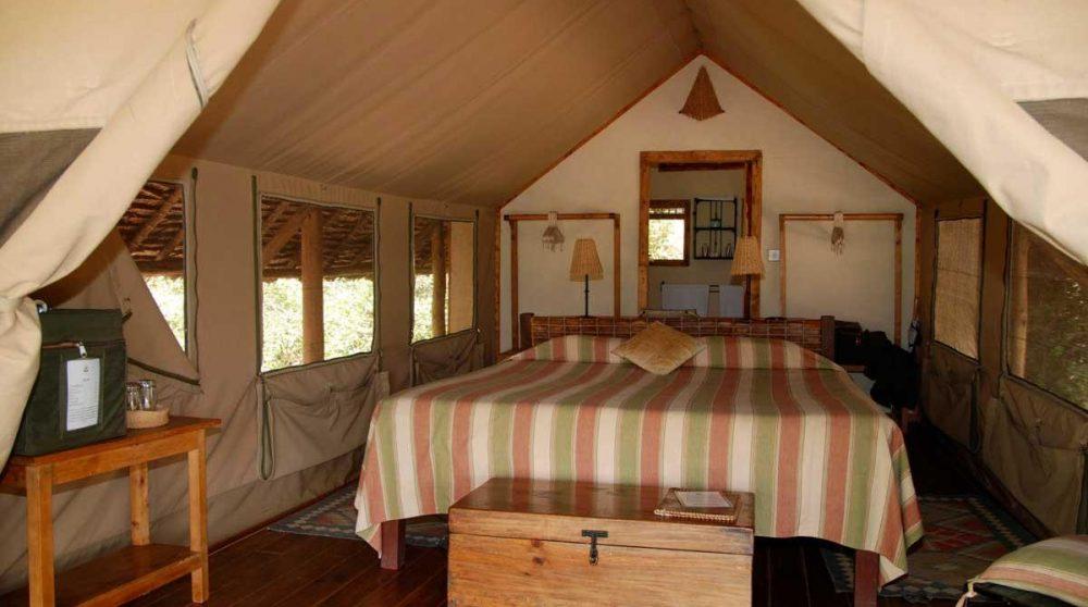 Autre vue de la chambre au Kenya