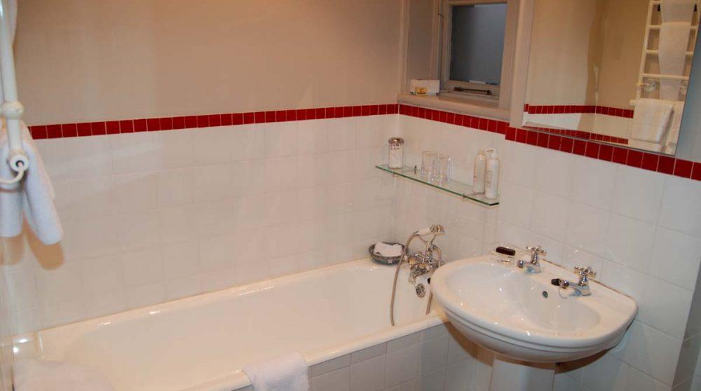 Une salle de bains de l'hôtel en Afrique du Sud