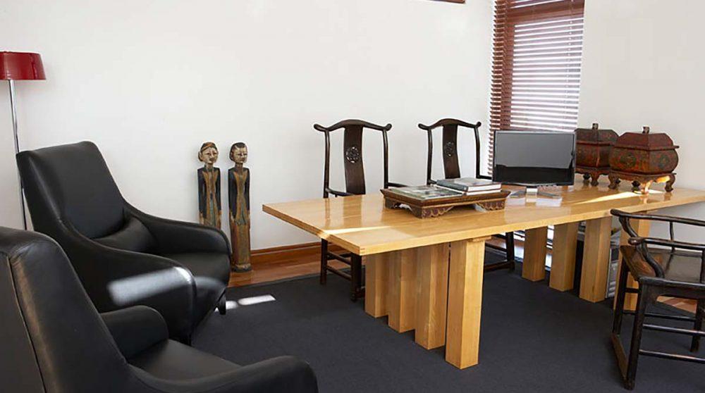 Bureau dans un penthouse en Afrique du Sud