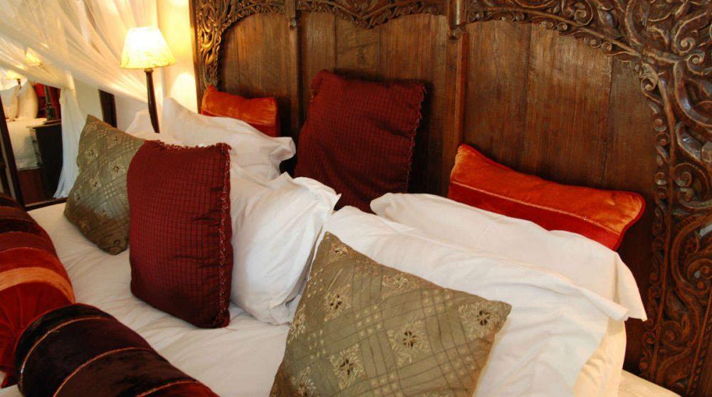 Le lit à Manyeleti