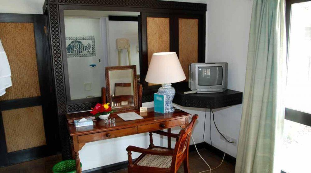 Coin bureau dans une chambre au Kenya