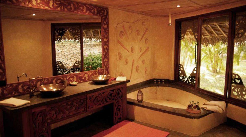 La salle de bains au Kenya