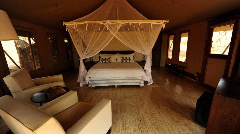 Une chambre dans le Tarangire