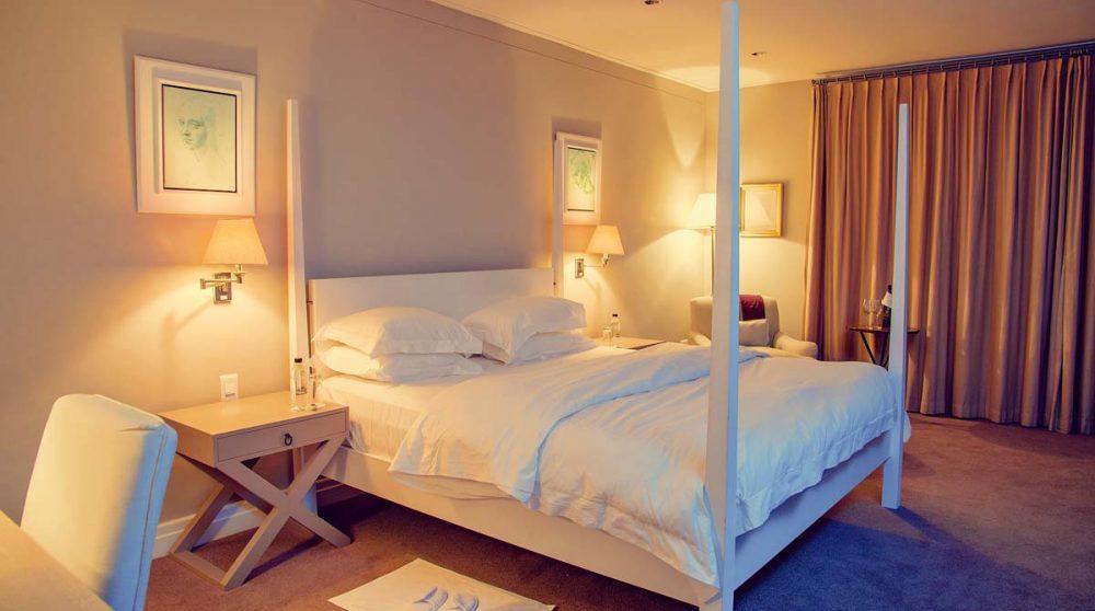 Une chambre deluxe en Afrique du Sud