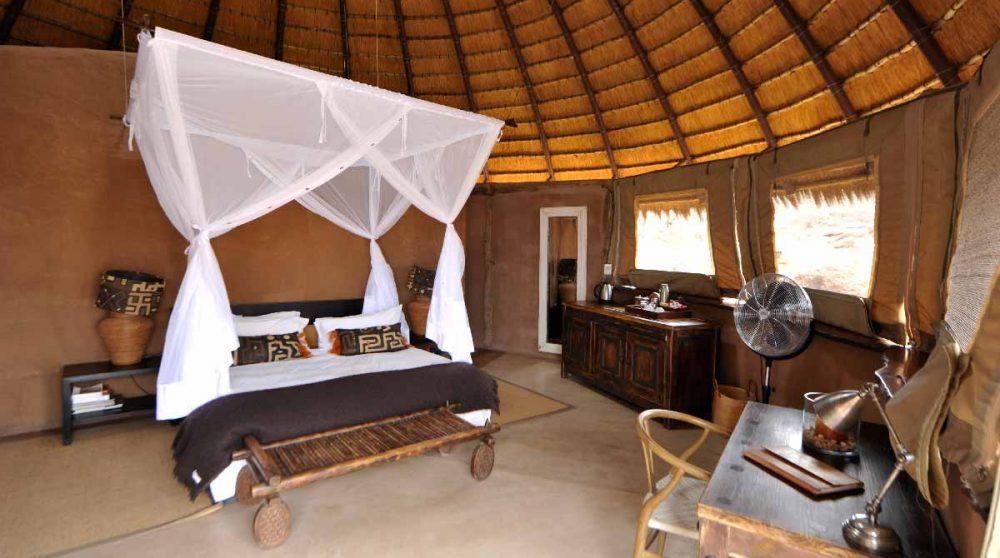 Chambre luxury en Namibie