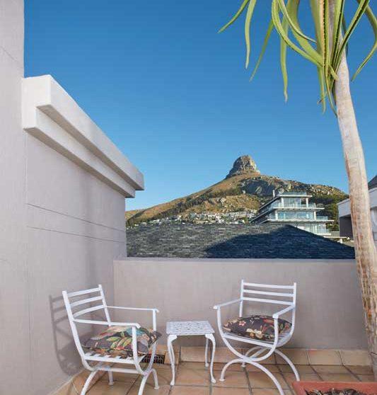 La terrasse d'une chambre Luxury Mountain Facing