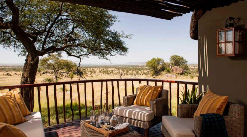 Une savannah room en Tanzanie