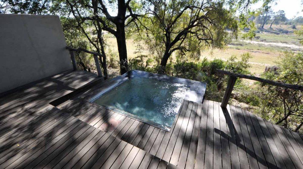 Une piscine privée