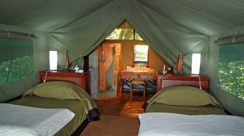 Autre vue d'une tente luxury