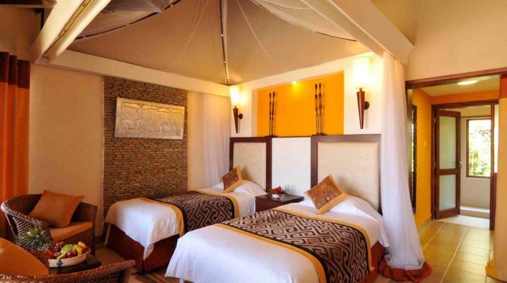 Autre chambres avec deux lits à Amboseli