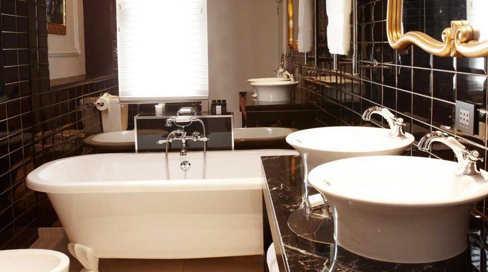 La salle de bains dans la ville du Cap