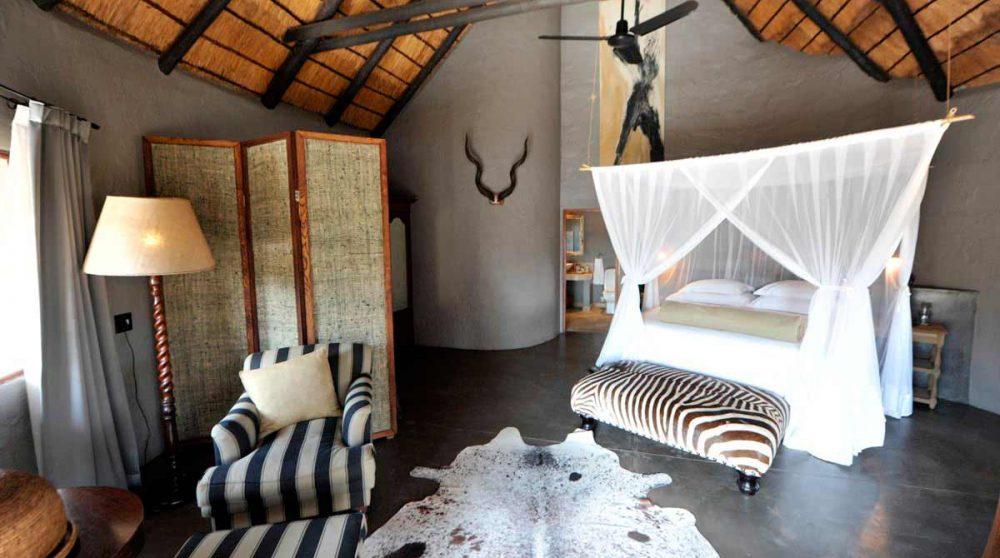 Autre chambre de l'hôtel en Afrique du Sud
