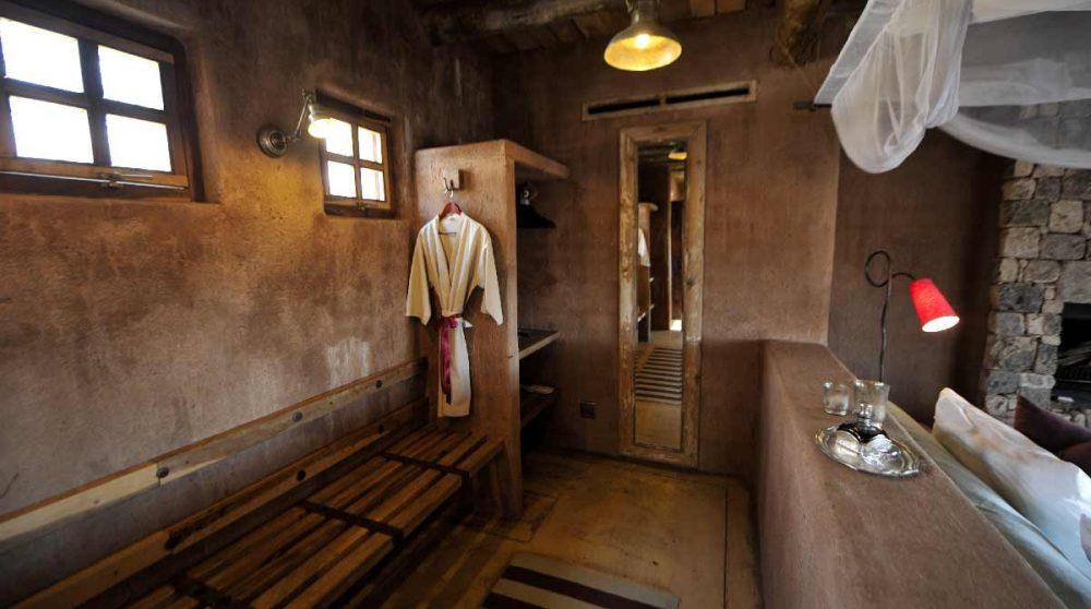 Le dressing de la chambre à Etosha