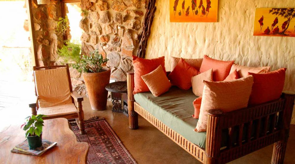 Canapé du salon en Afrique du Sud