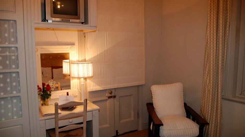 Bureau dans la chambre au Cap