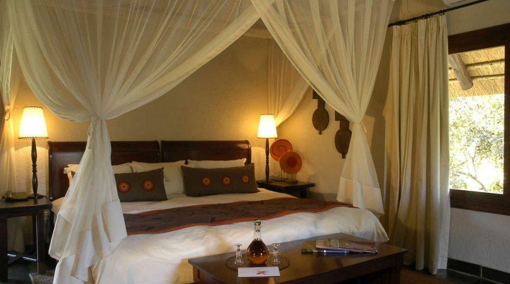 Exemple de chambre de l'hôtel en Afrique du Sud