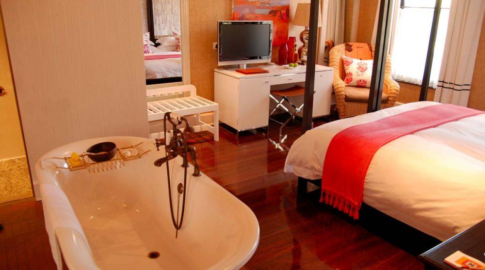 La salle de bains au Cap