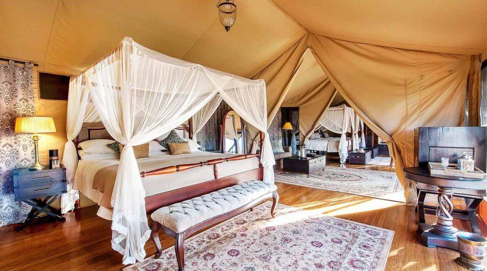 La tente familiale au Kenya