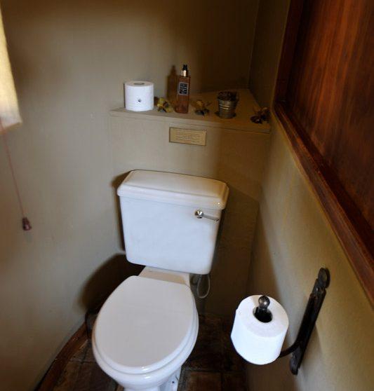 Les toilettes en Afrique du Sud