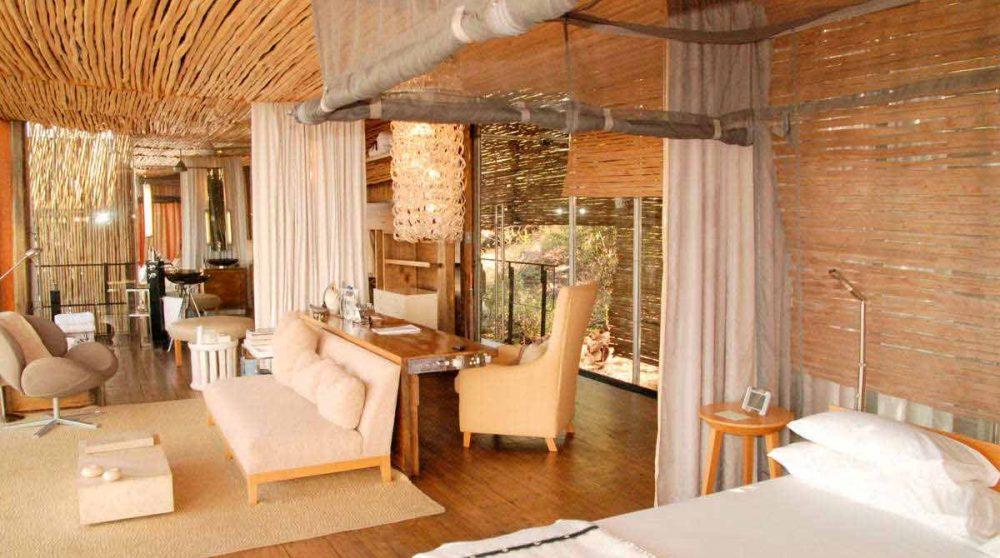 Vue d'une suite au parc Kruger