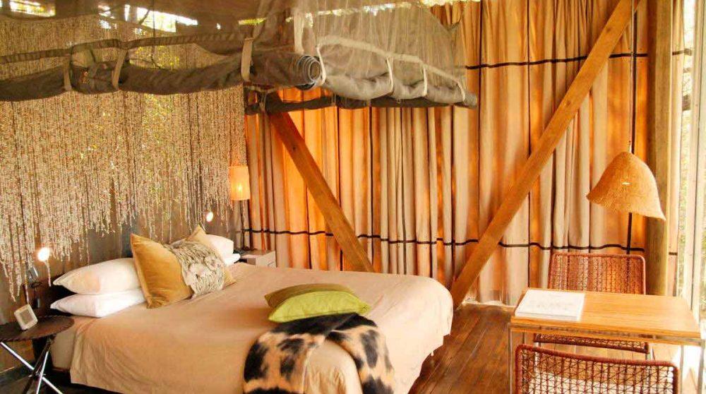 Le lit en Afrique du Sud