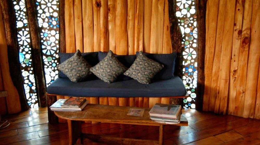 Le coin salon à Nairobi