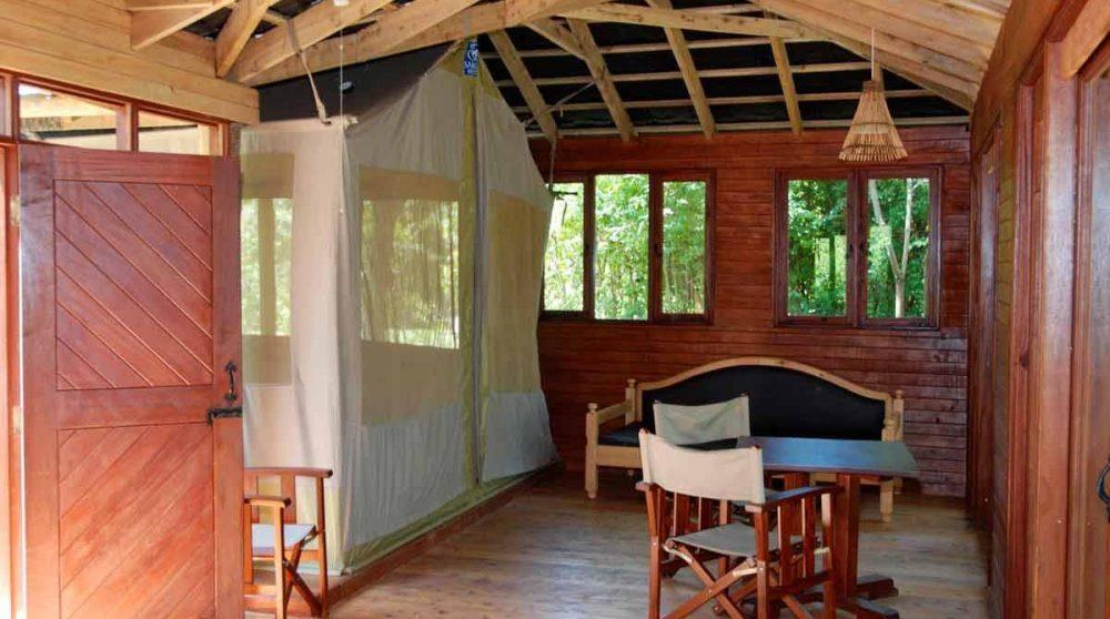 Autre vue d'une tente familiale au Kenya