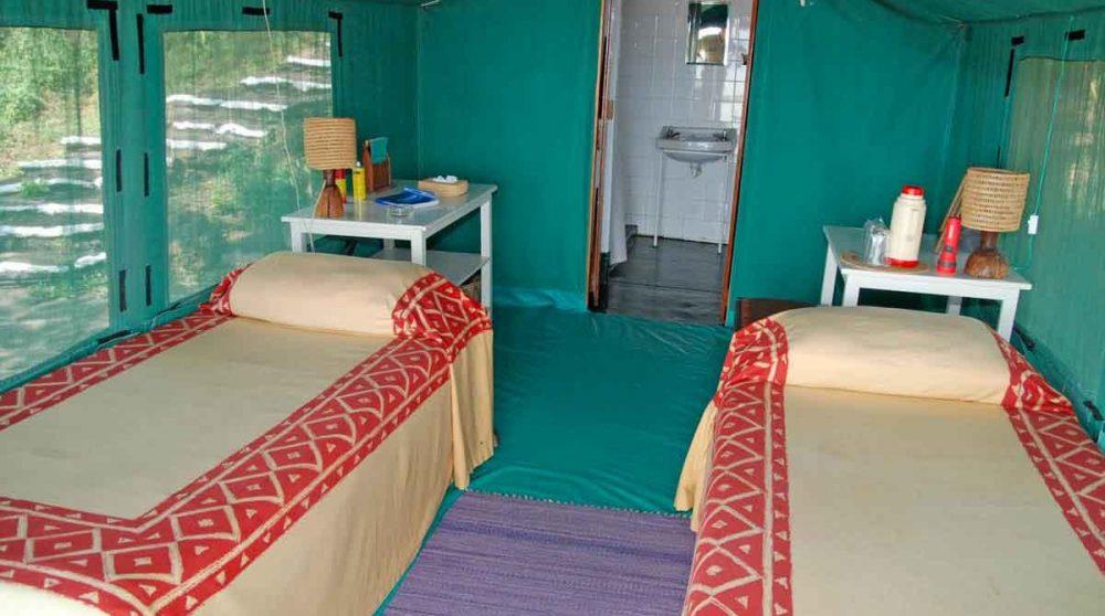 Autre exemple de chambre au lac Baringo