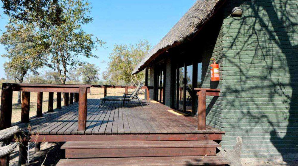 Extérieur d'une Honeymoon suite en Afrique du Sud