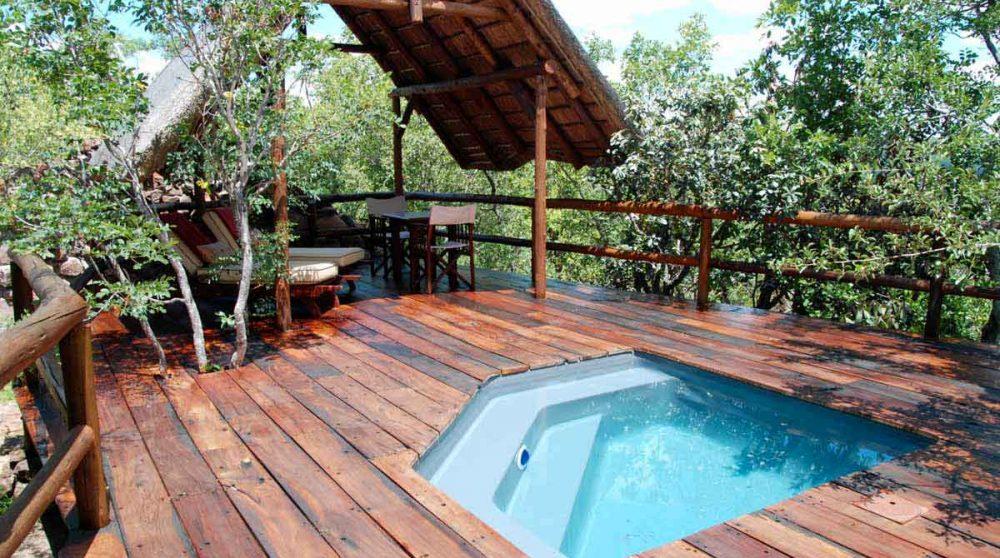 Une piscine privative