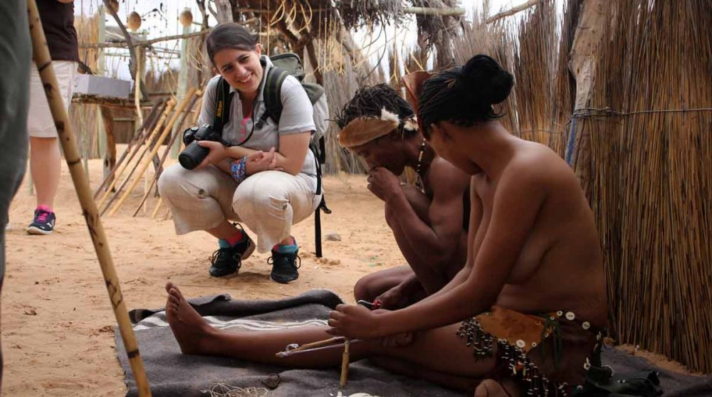 Artisanat des bushmen
