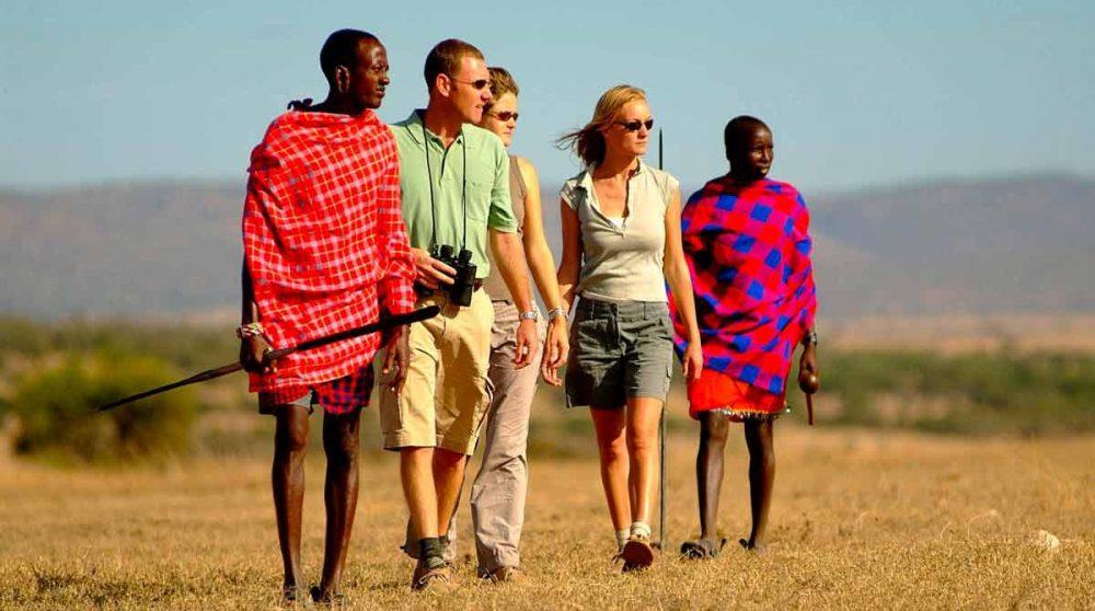 Safari à pied acompagnés des Masaïs au Kenya