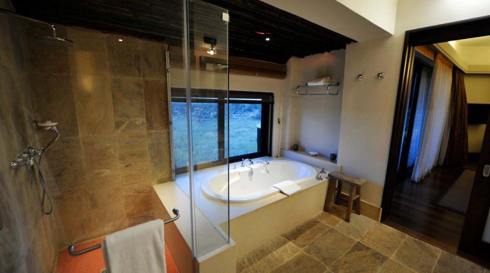 La douche et la baignoire