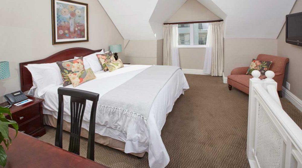 La chambre à Cape Town