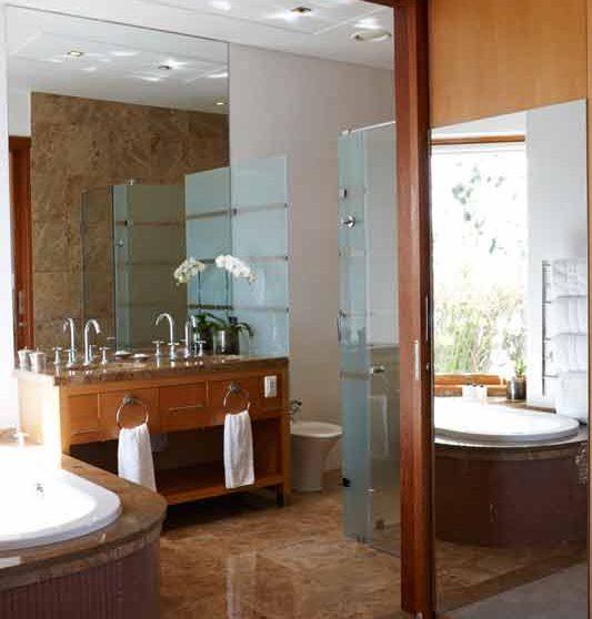 La salle de bains à Cape Town