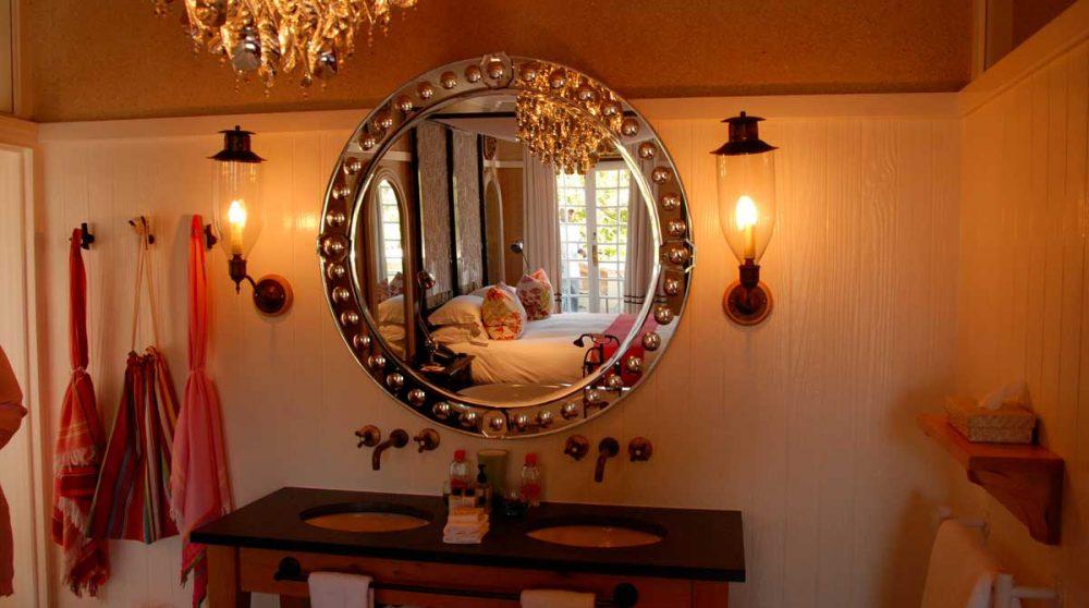 Salle de bains dans la suite sangoma du Hout Bay Manor