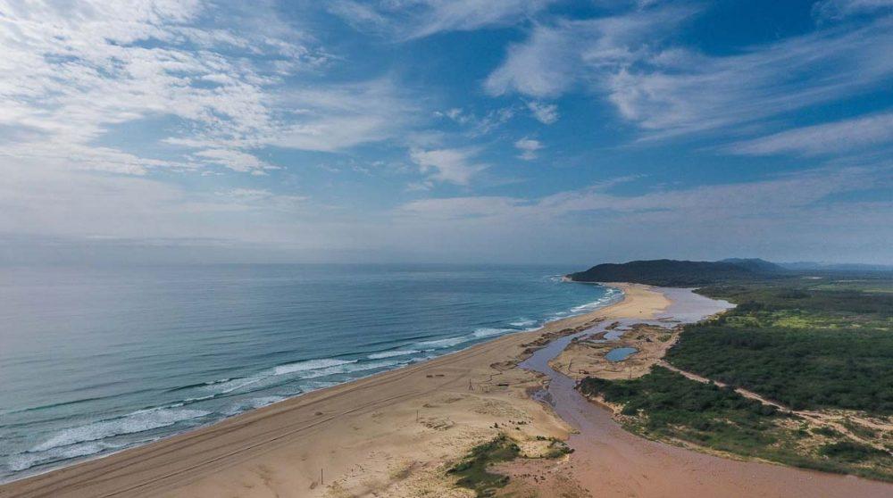 La baie de St Lucia en Afrique du Sud