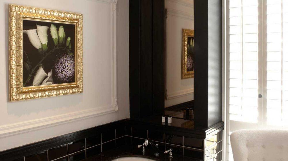 Baignoire dans une salle de bains du Alphen