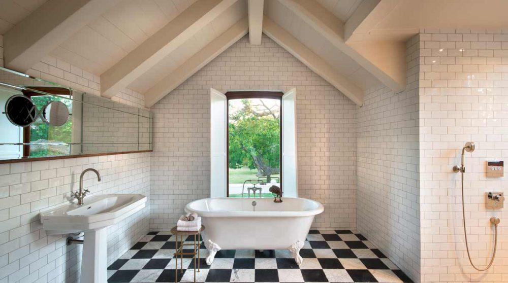 Sa salle de bains à Babylonstoren