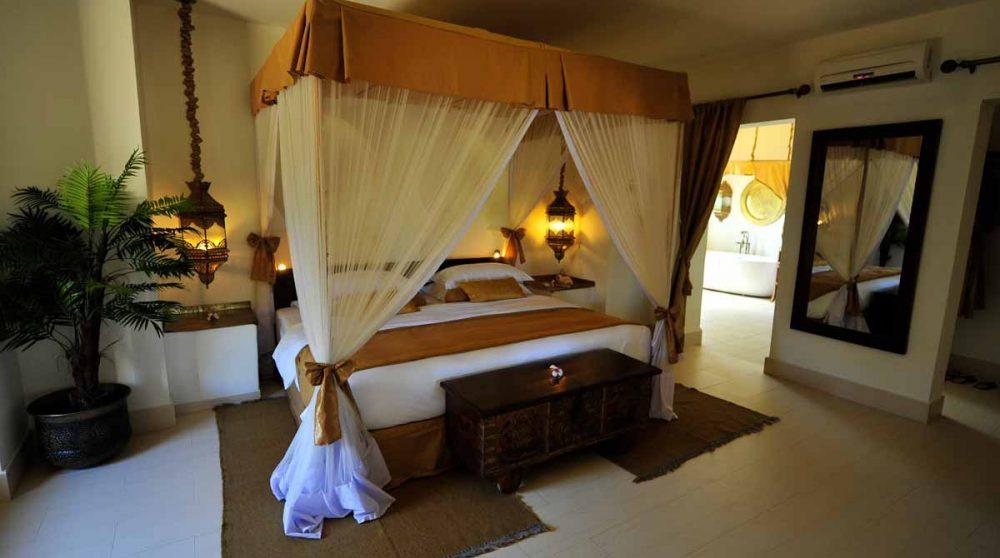 Chambre dans une villa du Baraza