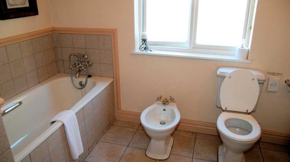 Salle de bains au Franschhoek Contry House
