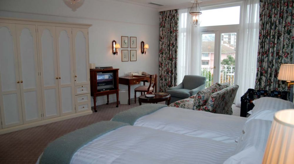 Chambre luxury room du Mount Nelson