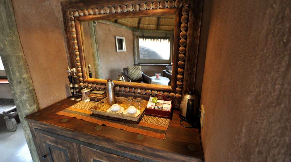 Vue d'une mini suite au Mowani Mountain Camp