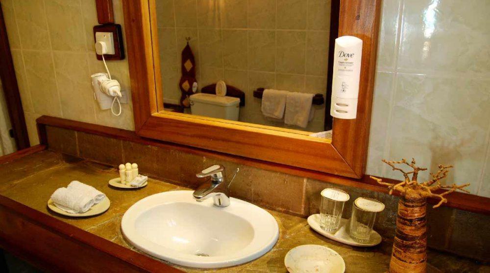 Salle de bains au Sands at Nomad