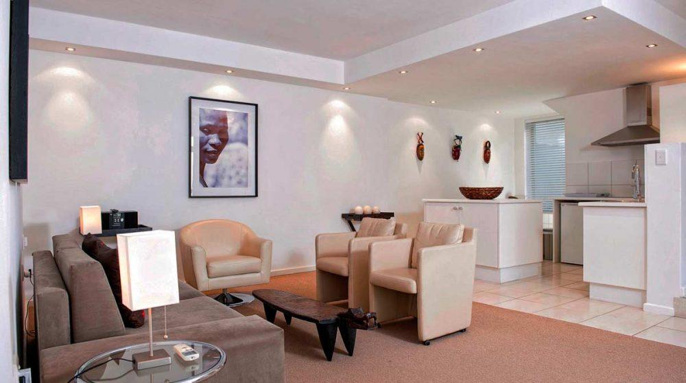 Une suite de l'hôtel en Afrique du Sud