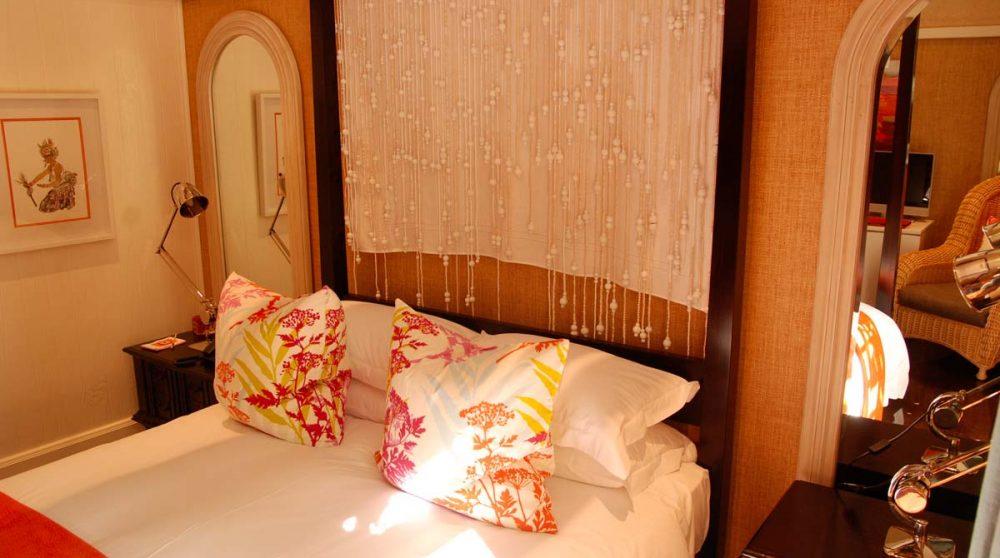 Le lit de la chambre sotho