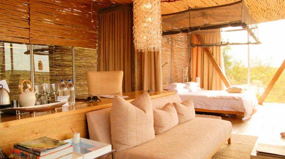 Un canapé en Afrique du Sud