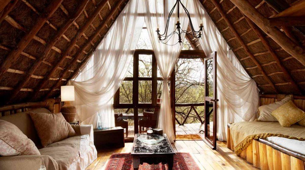 Coin détente dans un treehouse au Kenya
