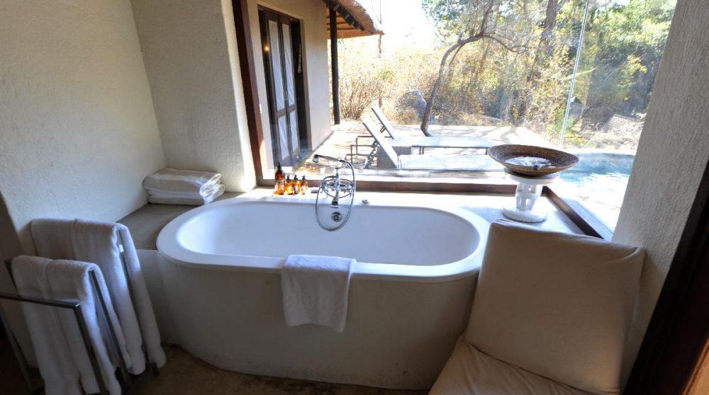 La baignoire près du parc Kruger
