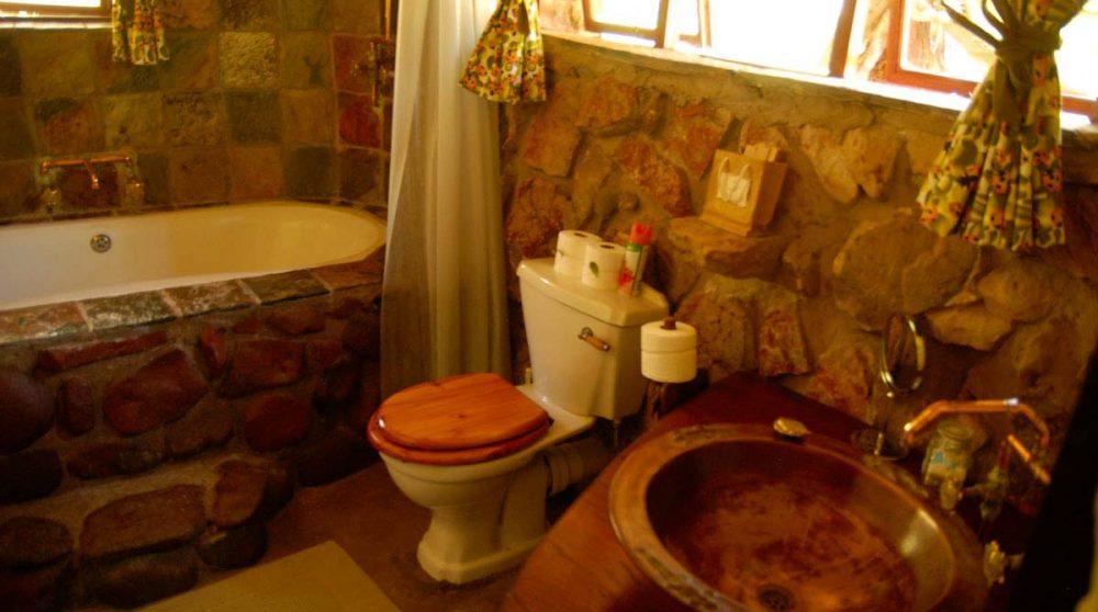Les toilettes à Waterberg